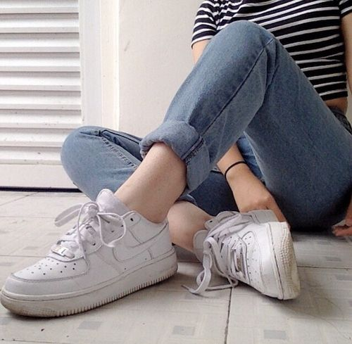 air force, fashion, girl, grunge, hipster, nike, tumblr, vintage