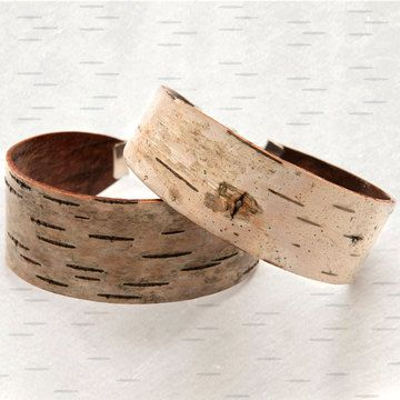 Fab.com | Baubles Made With Birch Bark