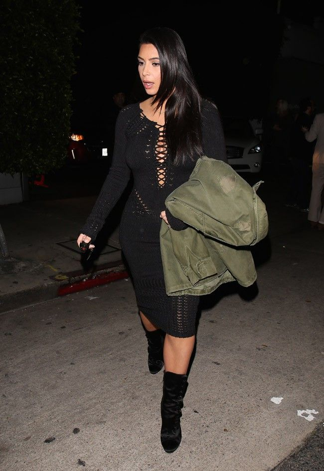 Kim Kardashian/ L.A Giorgio baldi 1/15/2015