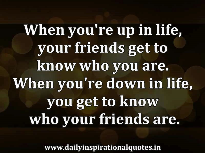 Inspirational Quote About Friendship Prepossessing Inspirational Quotes About Friendship  Inspirational Quotes