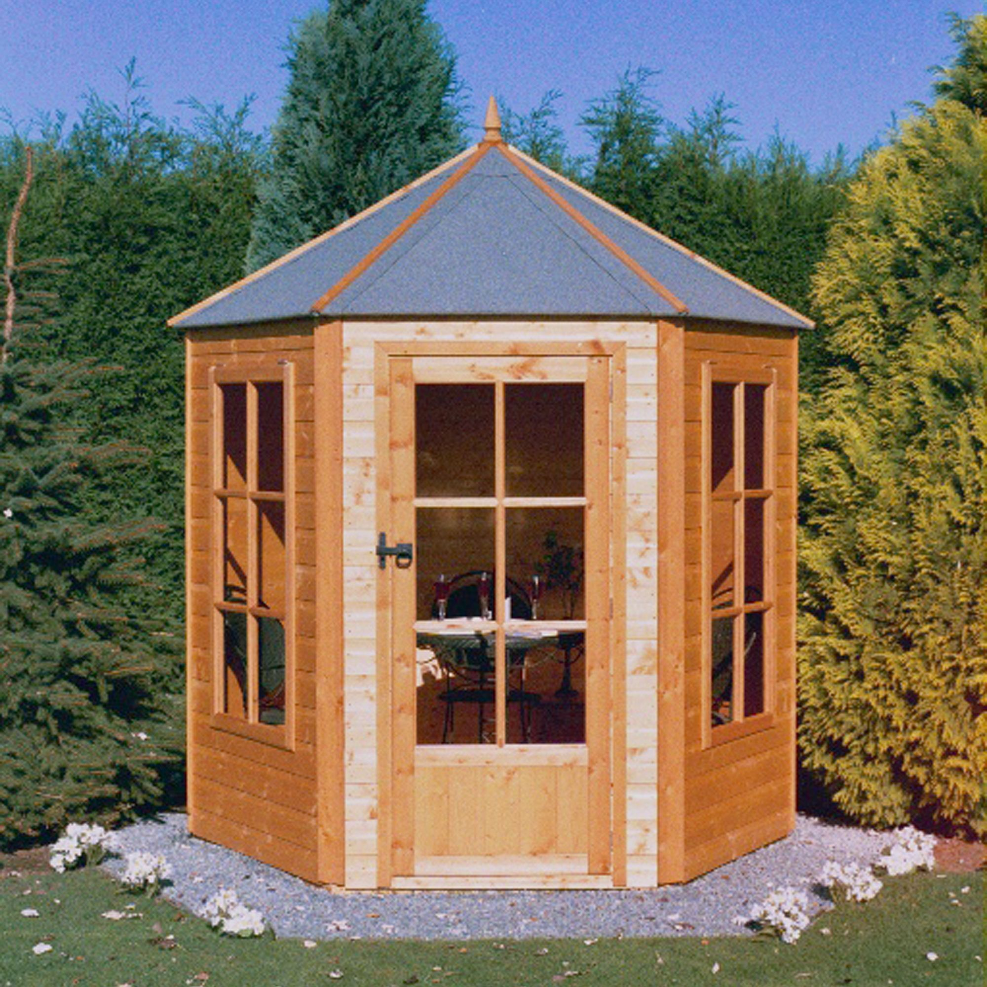 gazebo shiplap timber summerhouse with assembly service bq for all your home and garden supplies and advice on all the latest diy trends - Garden Sheds B Q