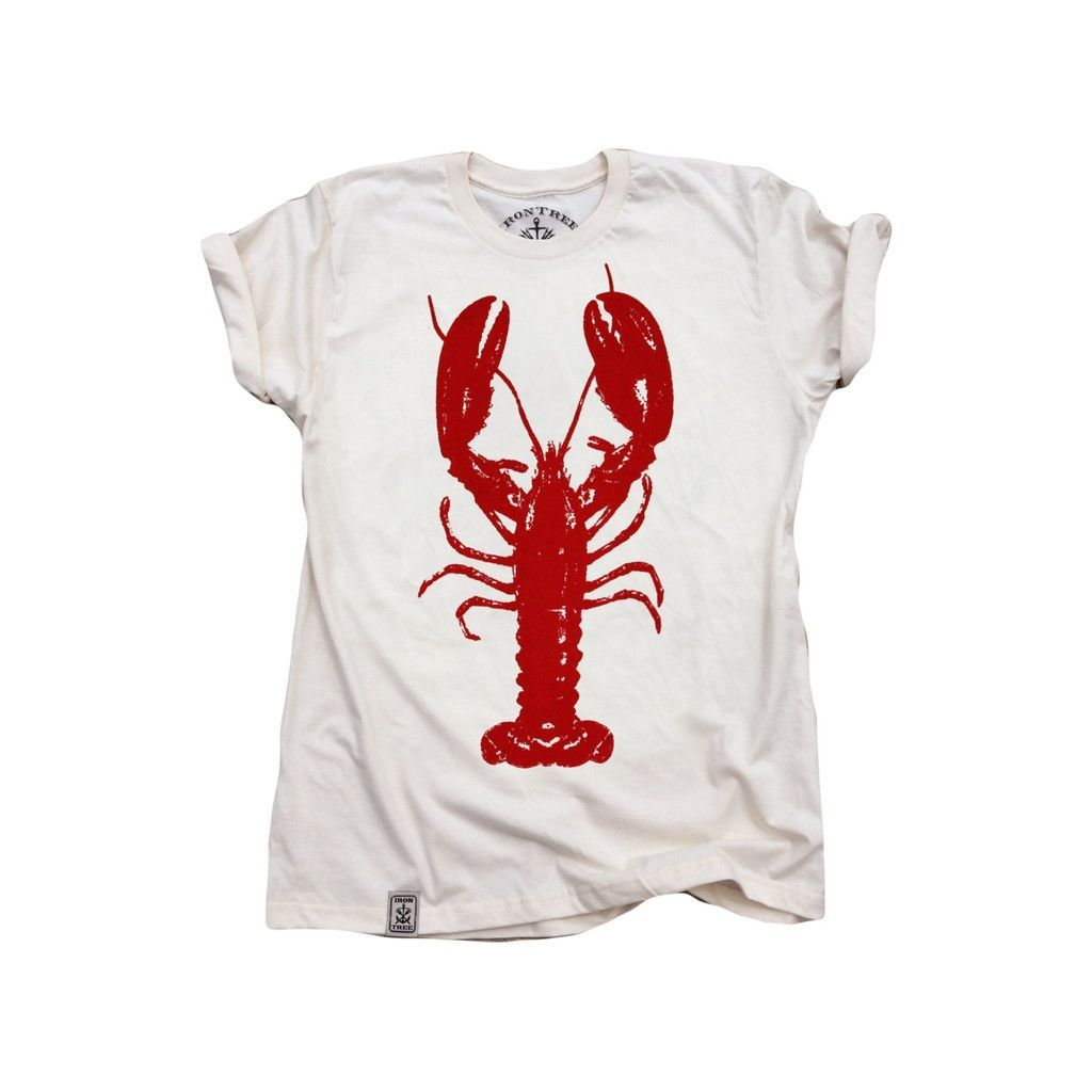 Rock Lobster Organic Fine Jersey Short Sleeve TShirt in