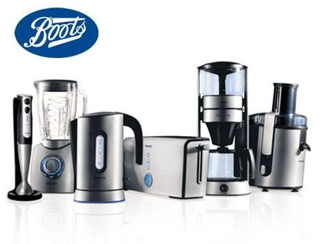 boots electrical appliances