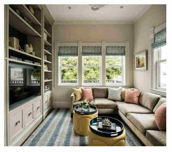 Contoh Ruang Tamu Sekaligus Ruang Keluarga Desain Ruang Tamu