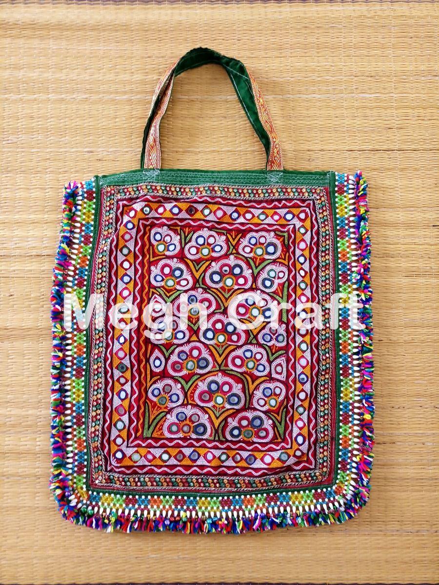 9cab5b06ed2d Indian Banjara Mirror work Handmade Bag- vintage Bohemian Mirror work Theli  Bag