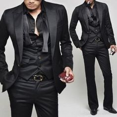 1000  images about Male Suits on Pinterest | Ties, Groomsmen and