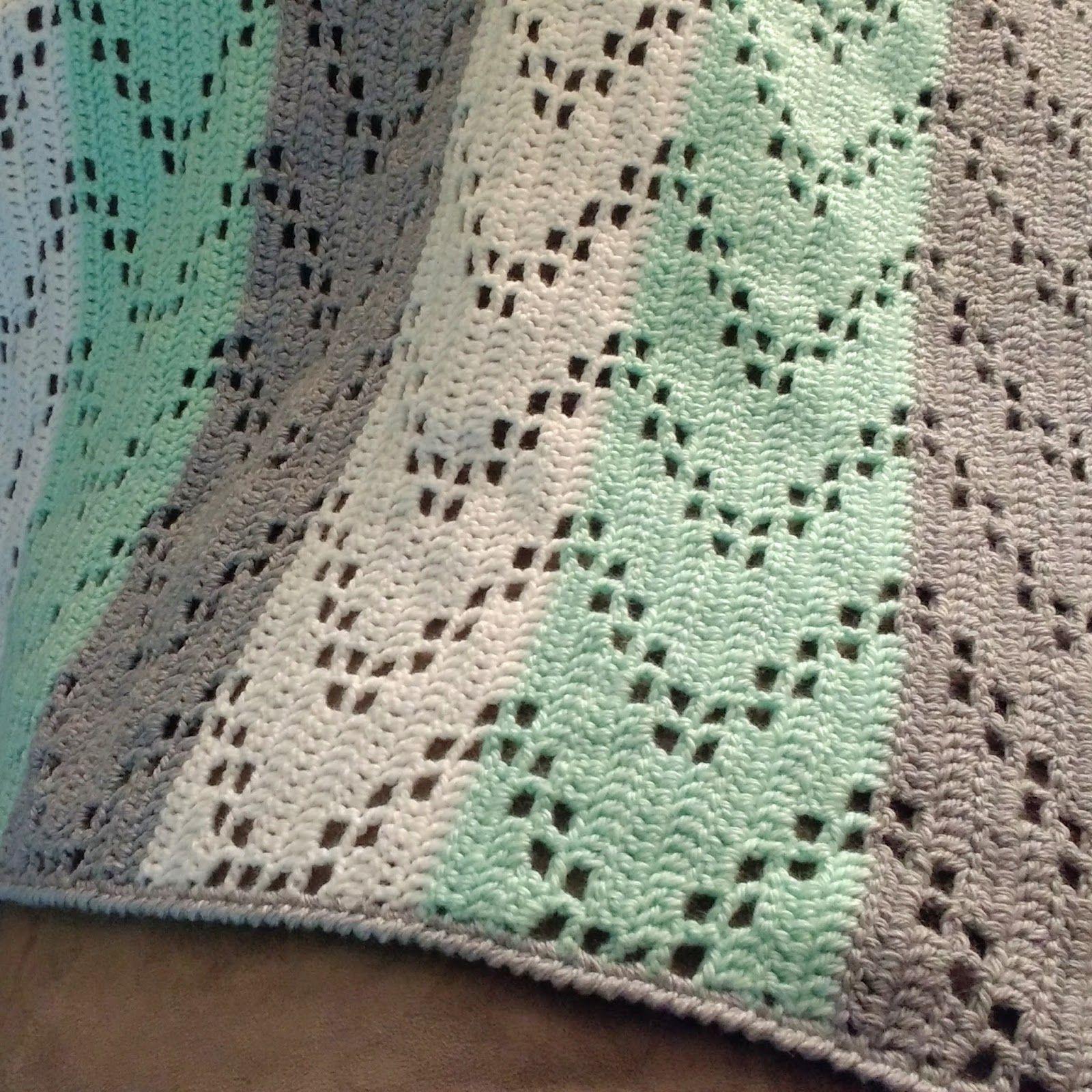 Zig Zag Crochet Baby Blanket Free Pattern A Rewrite Of The