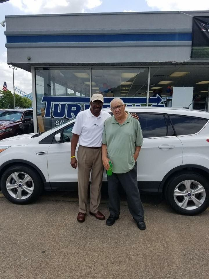 Howard McAtee with his Sales Associate Garfield Bohanna Thanks - sales associate