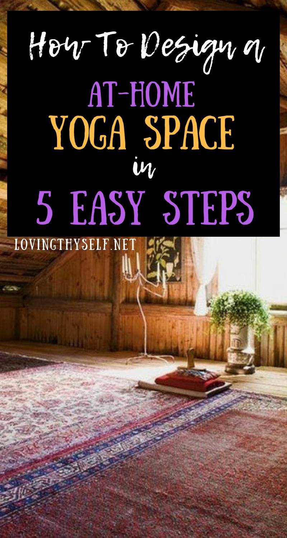 Diy Yoga Zen Den 5 Tips To Create An At Home Yoga Sacred Space Yoga Space Diy Yoga Yoga Meditation Room