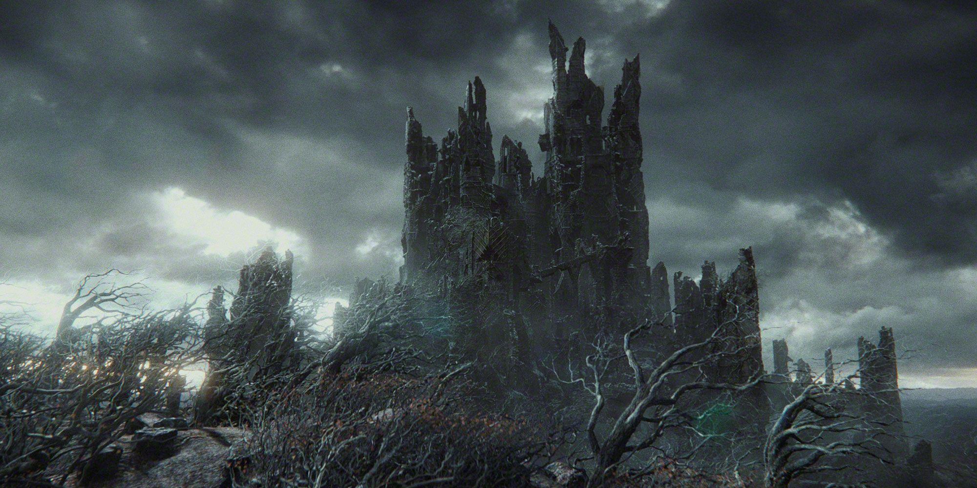 En este pin se puede ver la fortaleza de Dolgurdur en minecraft a