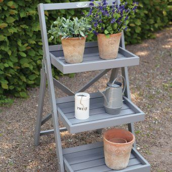 pflanzentreppe aus holz terrasse pinterest. Black Bedroom Furniture Sets. Home Design Ideas