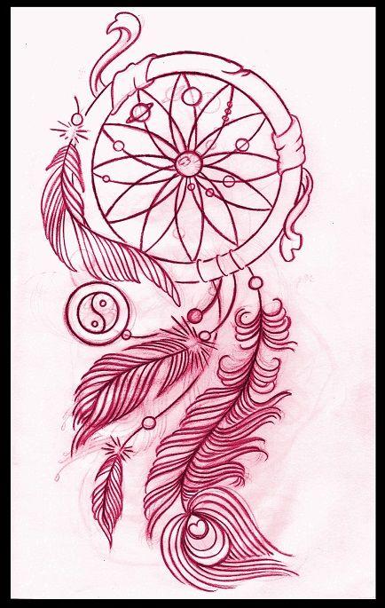 Dreamcatcher Tattoo Design By Thirteen7s On Deviantart Dream Catcher Tattoo Design Dreamcatcher Tattoo Tattoos