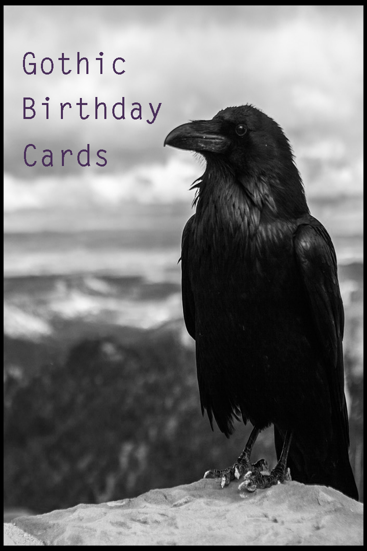 Great selection of gothic birthday cards for any type of goth in great selection of gothic birthday cards for any type of goth in your life from the kristyandbryce Images