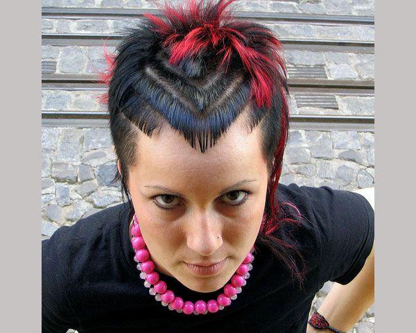 Punk Short Spikey Hair Cut