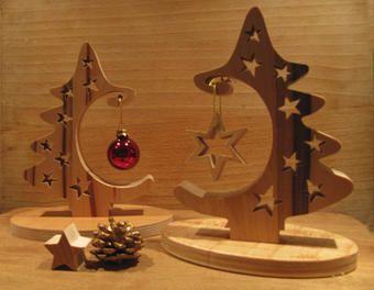 baum mit kugel und stern weihnachten holzideen. Black Bedroom Furniture Sets. Home Design Ideas