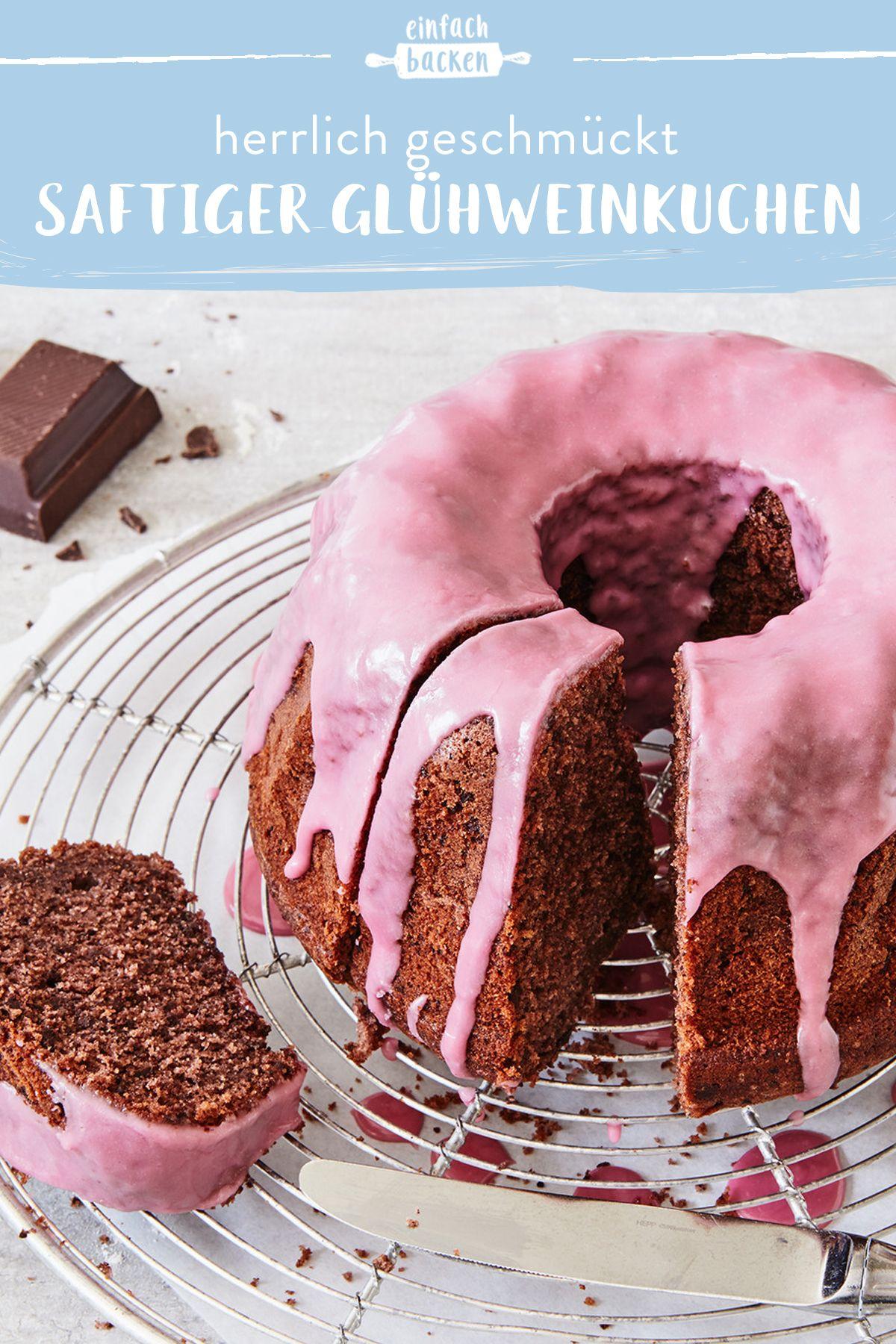 Photo of Juicy mulled wine cake