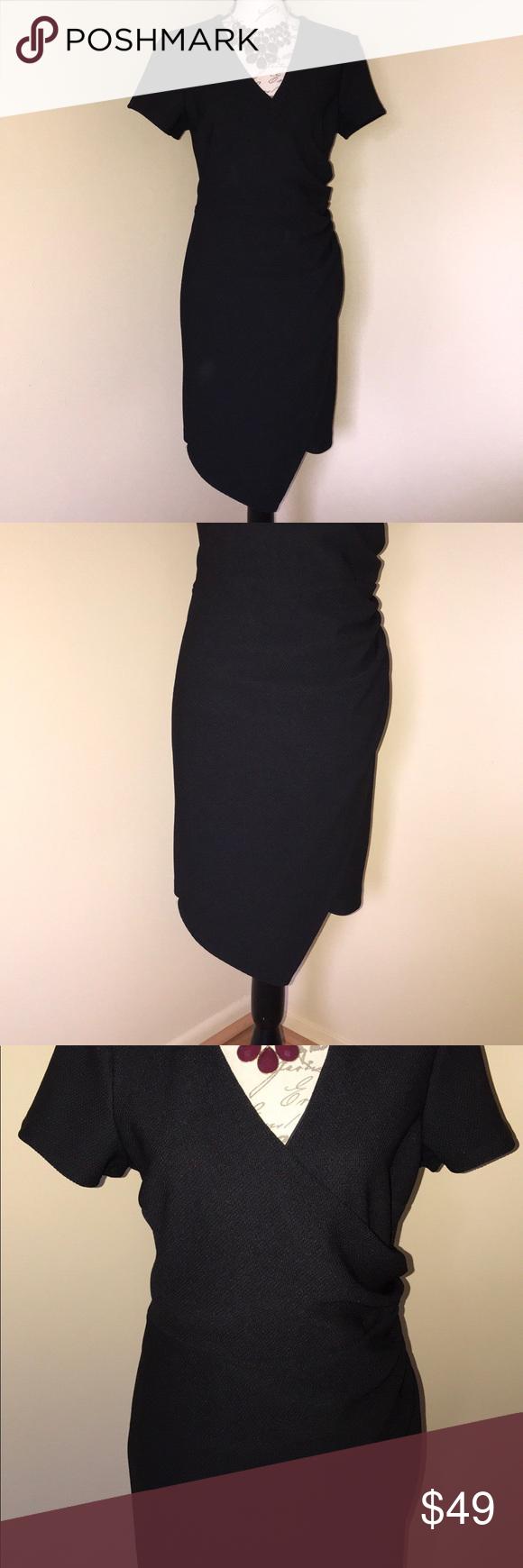 Womenus black dress spandex fabric black party and polyester spandex