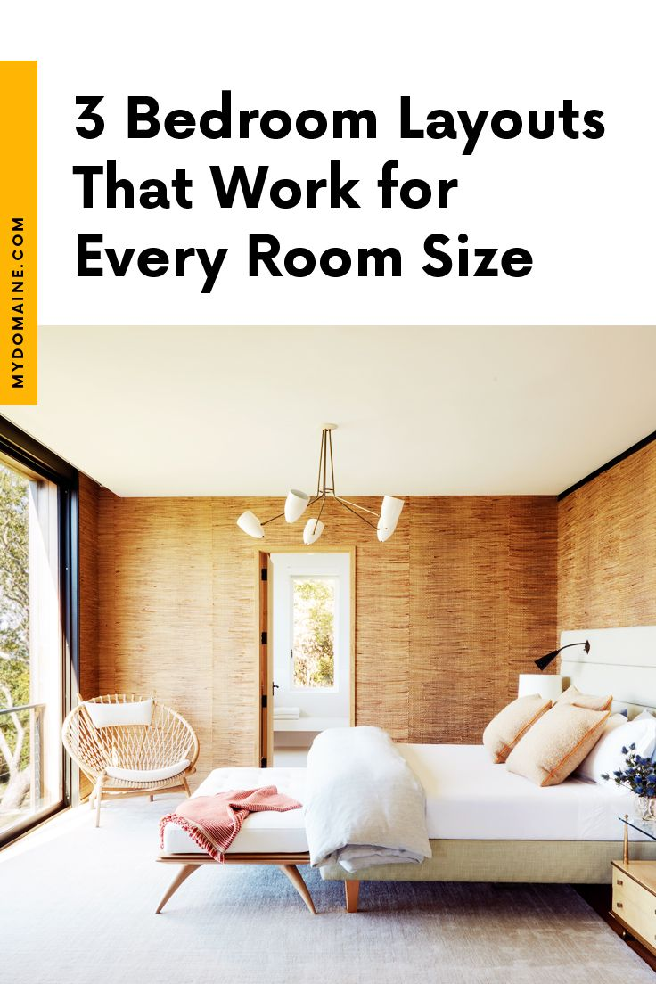 How to Arrange Your Bedroom Furniture for Every Room Size images