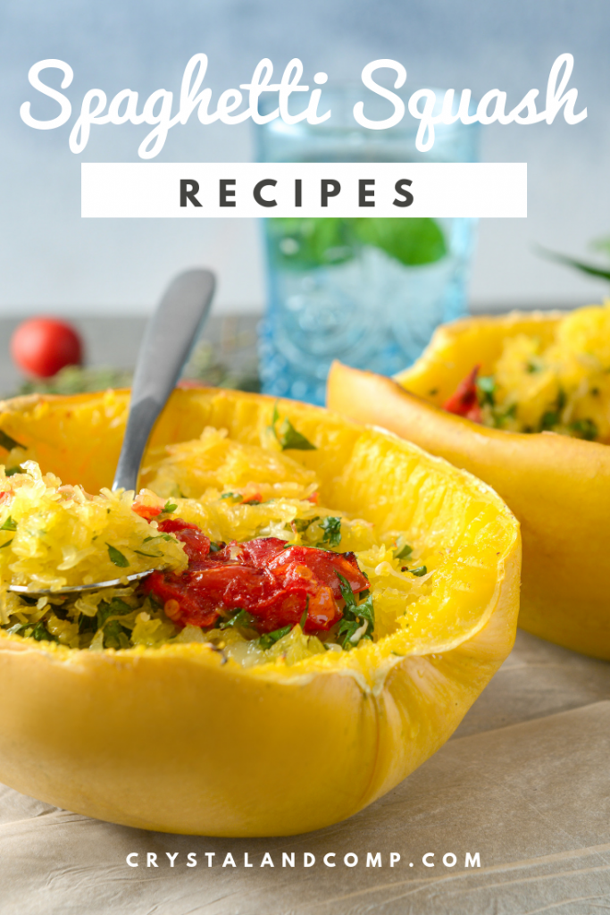 21 Ways To Stuff A Spaghetti Squash - Easy Recipes #stuffedspaghettisquash