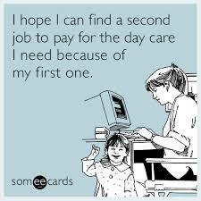 #daycare #funnyecard #toddler #momlife