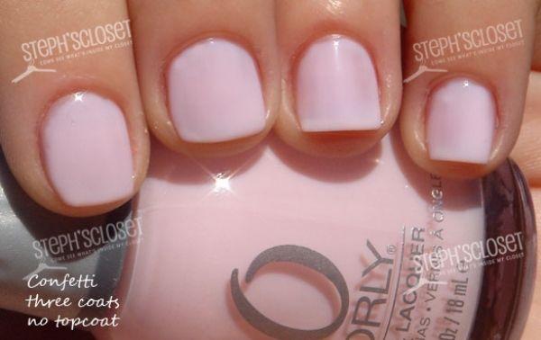 Orly Confetti Confetti Nails Orly Nail Polish Colors Nail Polish