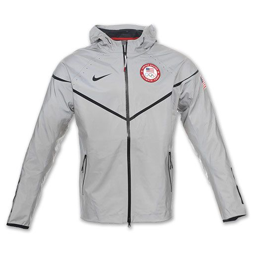 Nike USA Olympic Team Men's 21st C. Windrunner Jacket | FinishLine ...