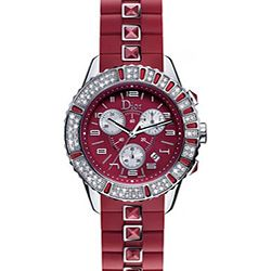 Christian Dior Christal Ruby Red Women S Watch Dress Up Watches