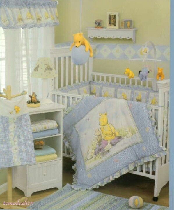 Classic Pooh Nursery Winnie The Pooh Nursery Baby Room Wall Baby Room Wall Stickers