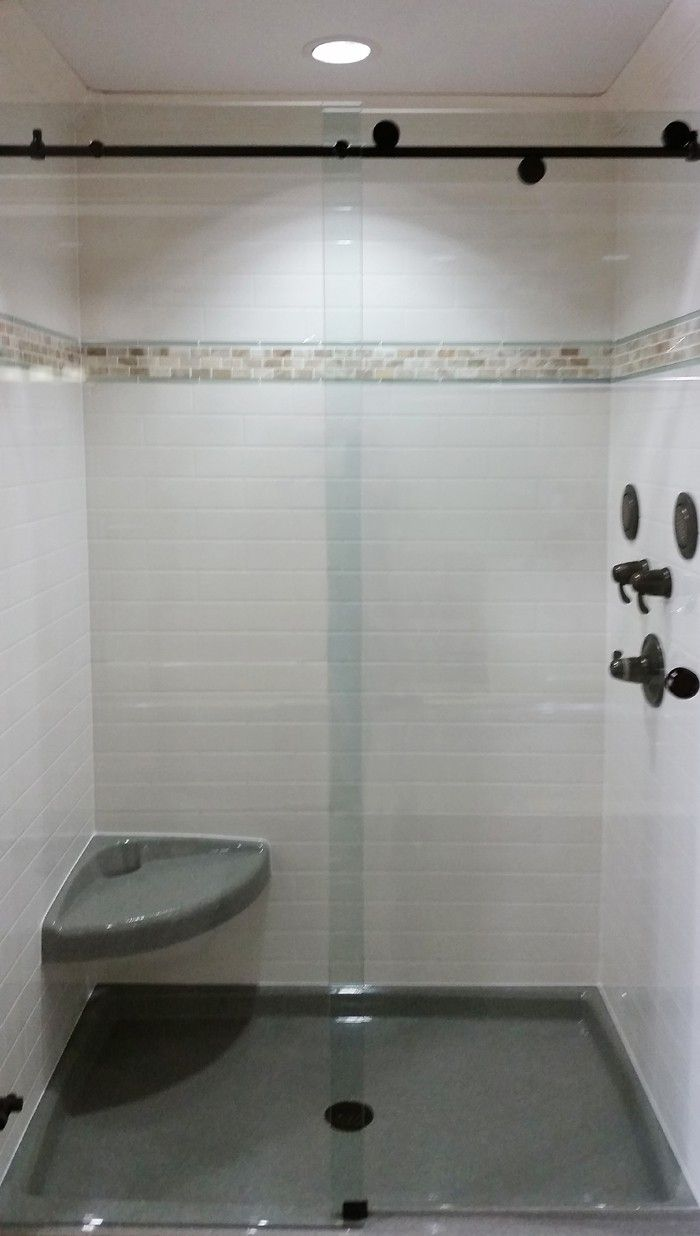 Showers Standard 76 Acrylic Shower Walls Shower Wall