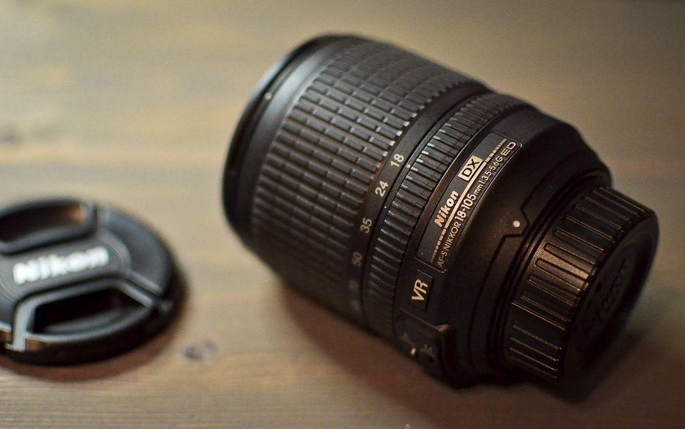 Nikon 18 105mm F 3 5 5 6g Ed Vr Af S Dx Nikkor Autofocus Lens 18 105 Mm Lens Nikon Ebay