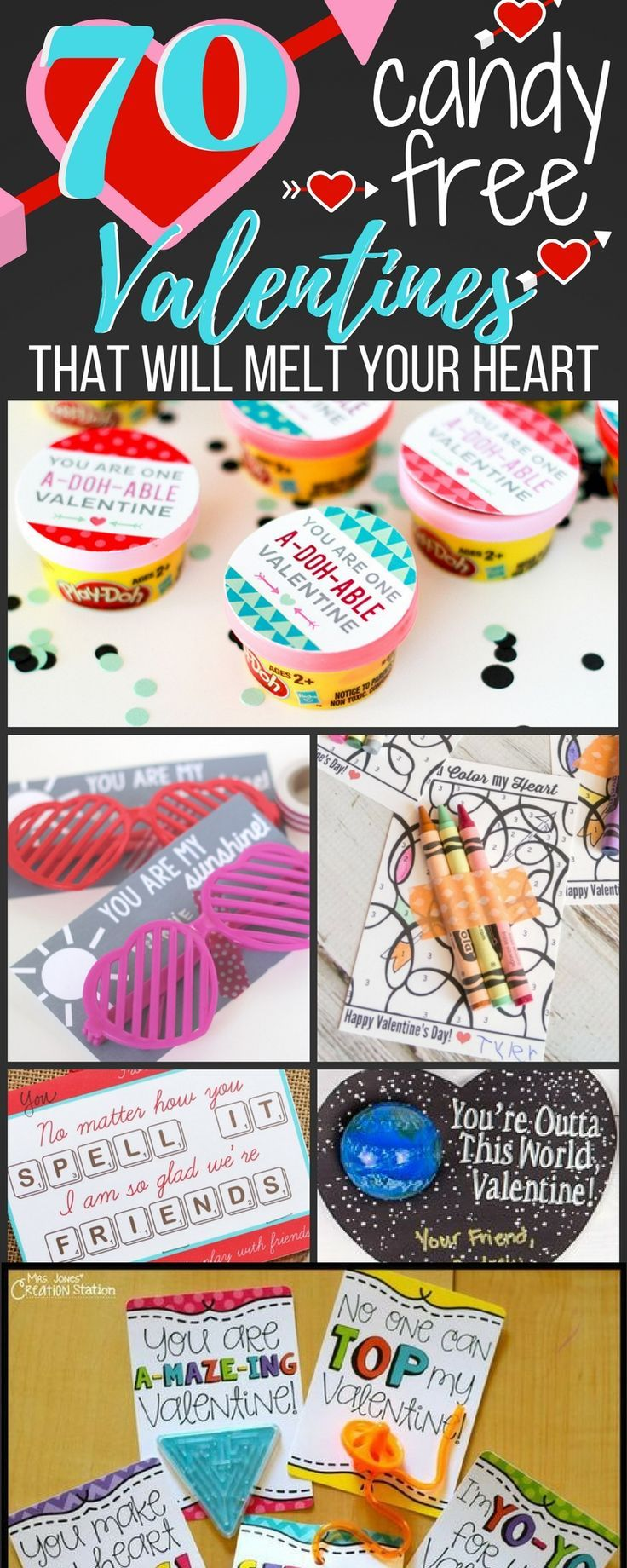 noncandy valentine card ideas  valentine's cards for
