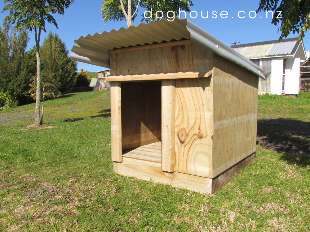 Dog House Plans Dog House For One Quality Outdoor Dog Kennel