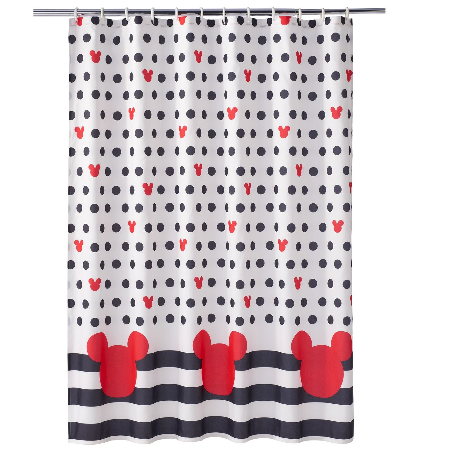 Disney S Mickey Mouse Shower Curtain Mickey Mouse Shower Curtain