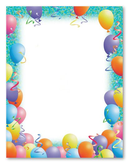 Birthday Stationery Wedding Stationery Letterhead, Letter Sheets