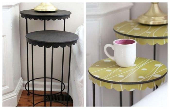 ▷ 1001+ idées originales pour une table relookée à bas prix