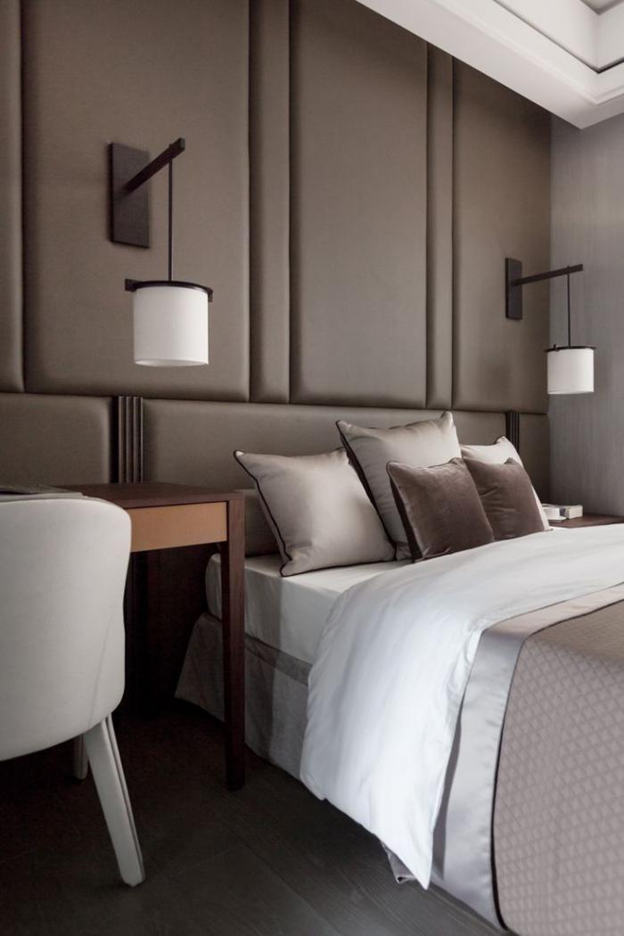 Quelle d coration pour la chambre coucher moderne for Dormitorio principal m6 deco