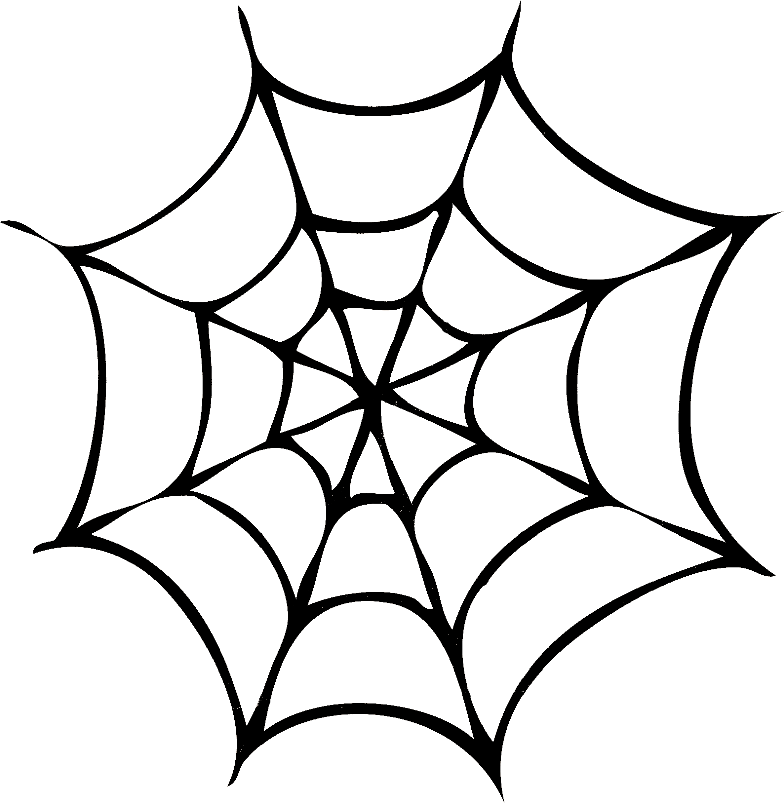 Silhouettes Di Halloween Free Halloween Images Line Art Images Halloween Spider Web Halloween Images