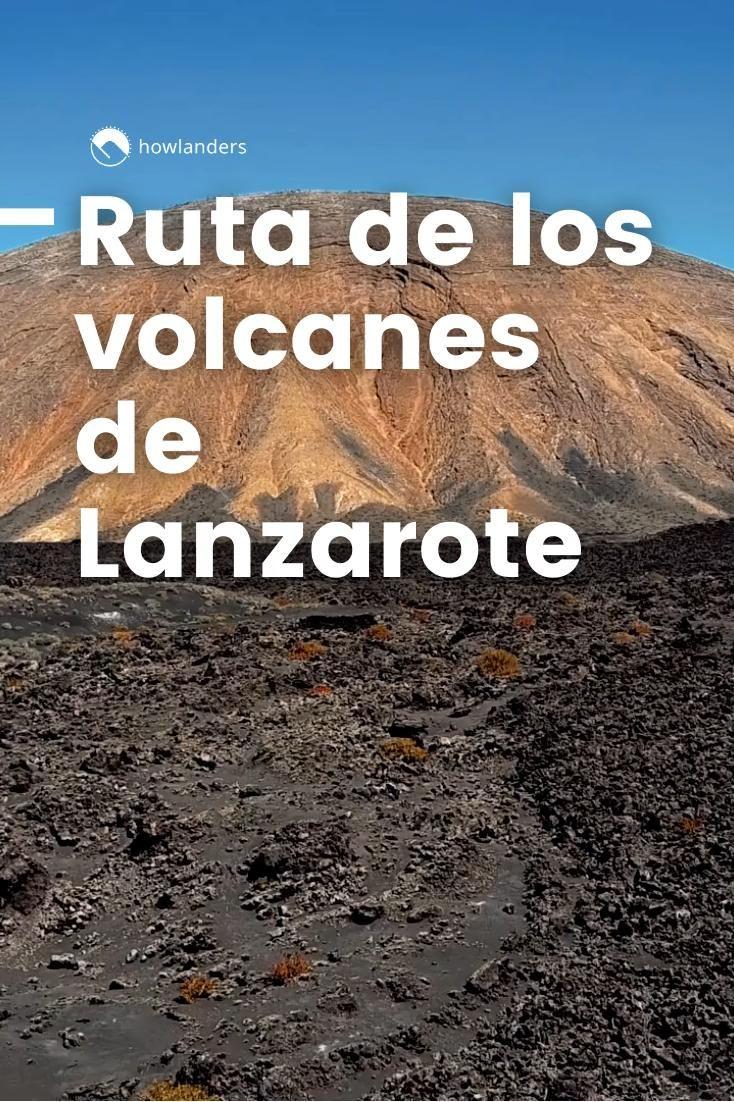 Ruta De Los Volcanes Lanzarote Video Video Lanzarote Volcanes Parques Naturales