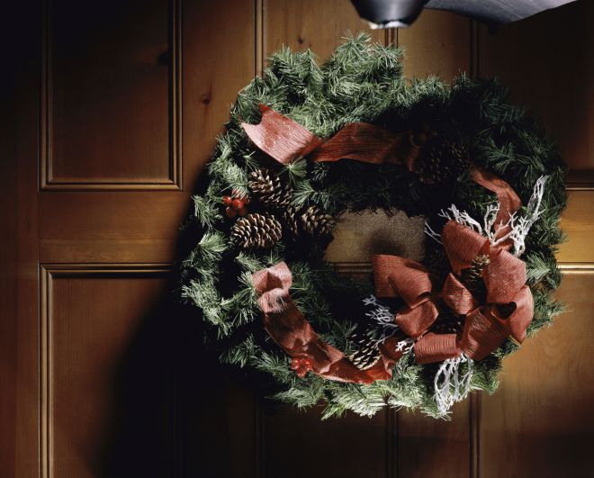 adornos navideos para puertas hogar total