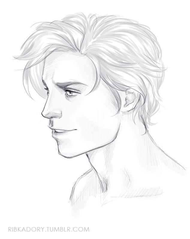 Head Drawing Desenhos De Homens Desenhos De Rostos Pespectiva