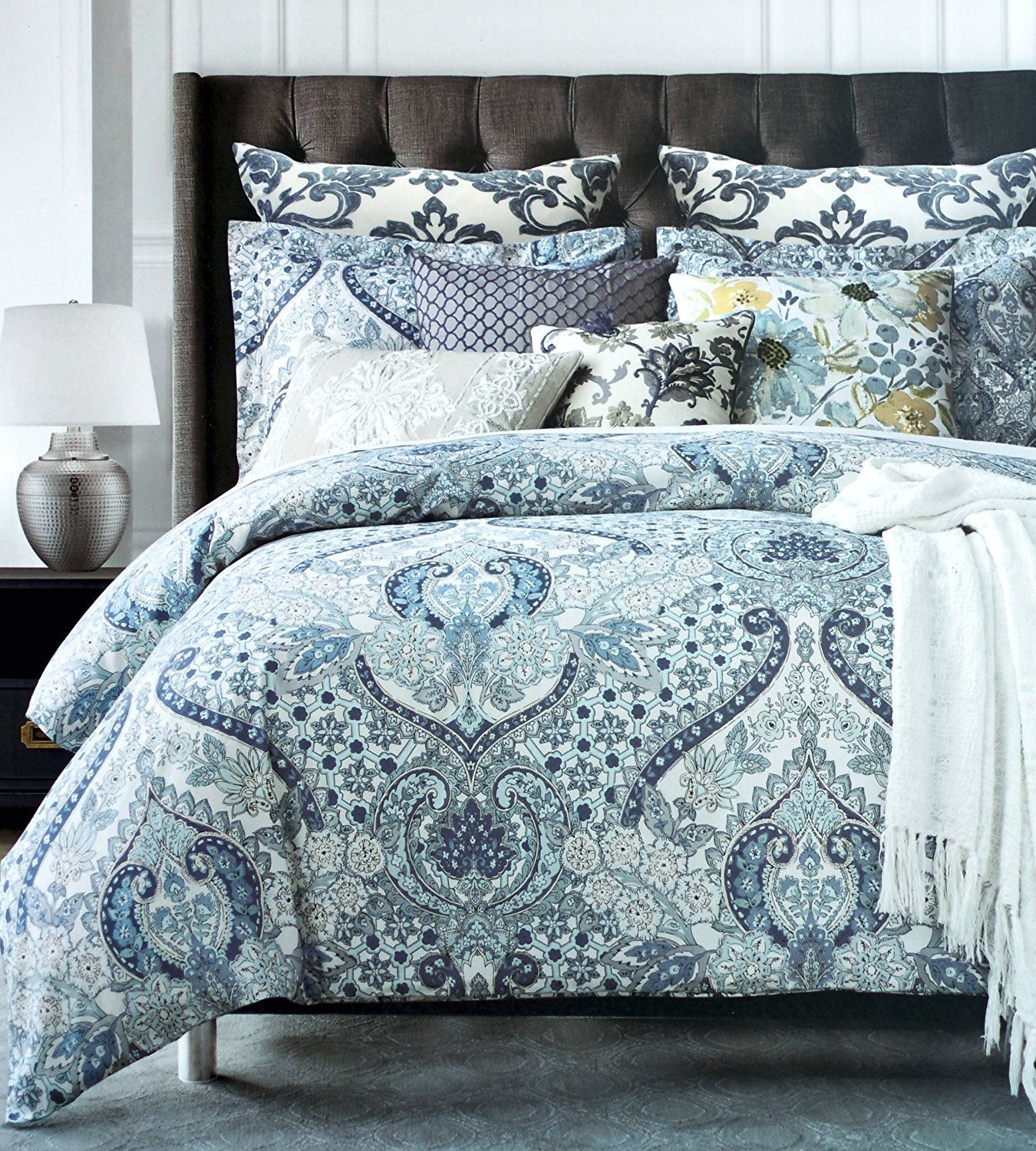 Boho Chic Bedding Sets With More Chic Bedding Tahari Bedding