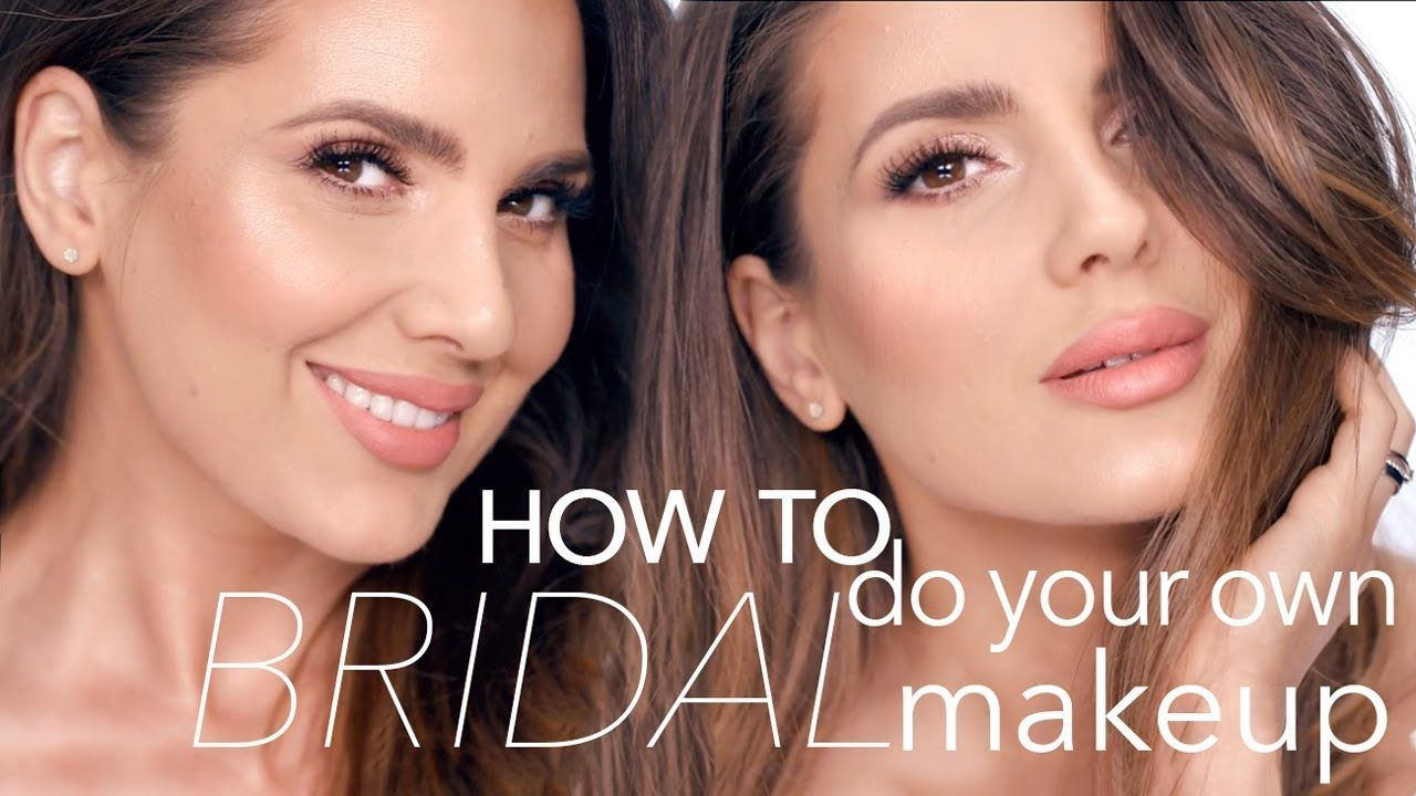 HOW TO DO YOUR OWN BRIDAL MAKEUP ALI ANDREEA YouTube