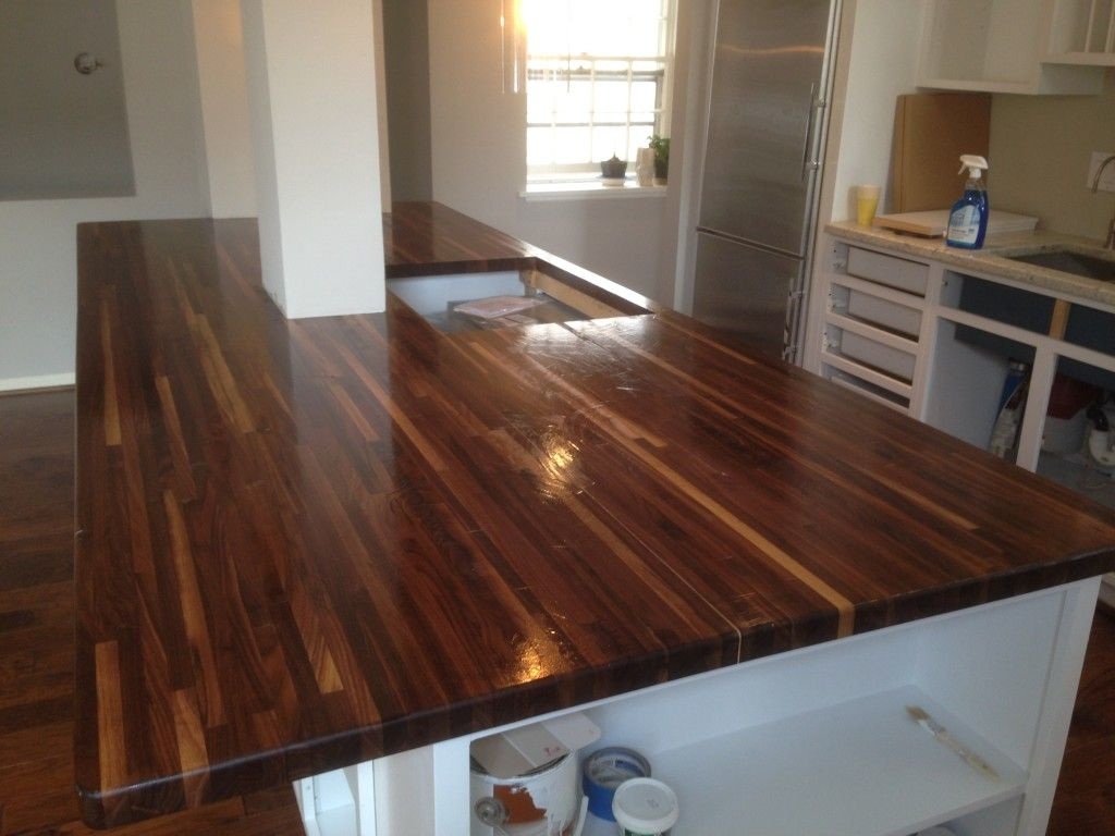Beautiful 1 X American Walnut Countertop   Williamsburg Butcher Block Co.