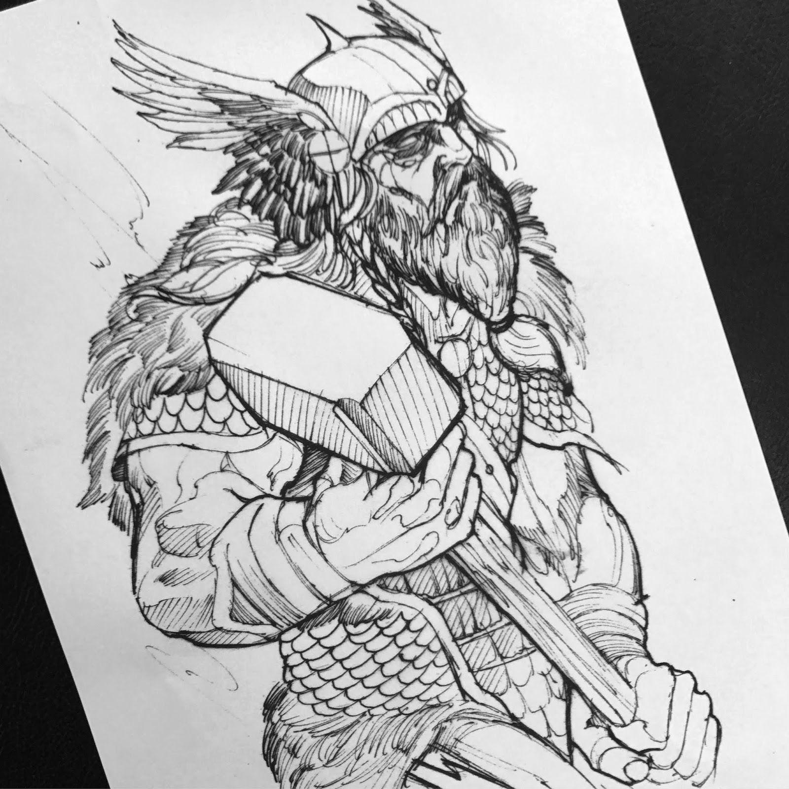 Viking Tattoo By Max Inkspot Http Bit Ly 10