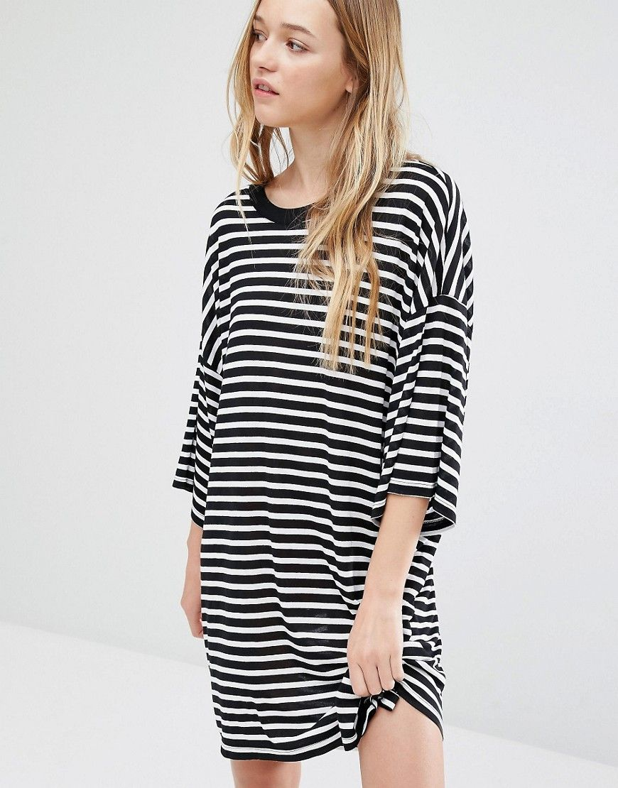 aa2001dab2 Weekday Huge T-Shirt Dress | Self | T shirt dress asos, Oversized t ...