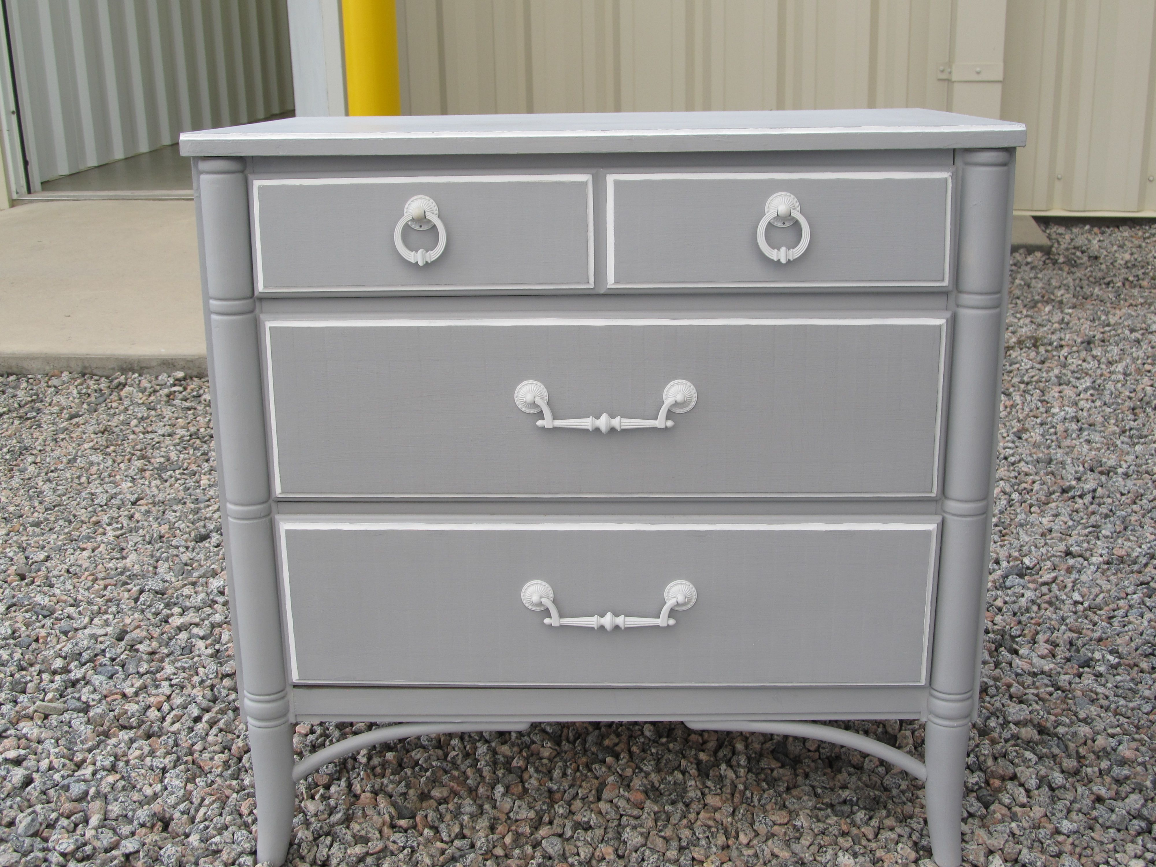 Paris Gray Pure White 3 Drawer Dresser Awesome Bedrooms Pretty Bedroom Fantastic Furniture [ 3000 x 4000 Pixel ]