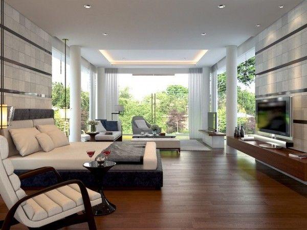 Astounding Master Bedroom Modern Tropical Sentul Jakarta