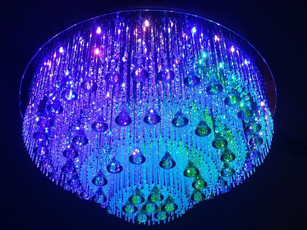 Crystal Chandelier Square Led Remote X Swarovski Crystal - Chandelier crystals wholesale