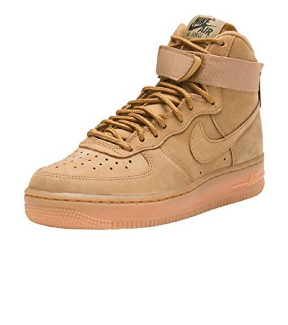 Nike Women's Air Force 1 Hi Premium. sku=654440 200 6.5