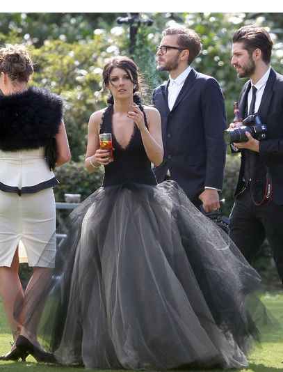See All The Photos From Shenae Grimes Dark Wedding Dresses Wedding Gowns Wedding Dresses